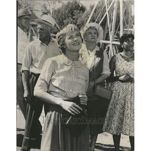 1959 Press Photo Joanne Woodward place Jerry Wald life - RRT07019