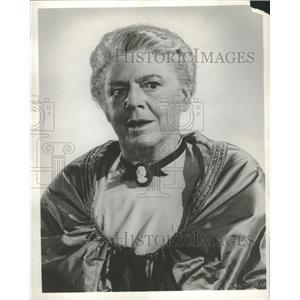 Press Photo Closeup caption Ethel Barrymore - RRT65173