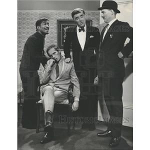1968 Press Photo Sammy Davis Junior Peter Lawford Bates