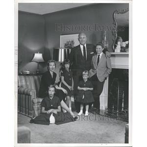 1957 Press Photo Jack Manning American Film&TV Actor - RRT99617