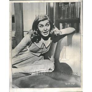 1957 Press Photo Joanne Woodward Actress Producer - RRT75833