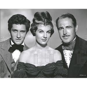 1951 Press Photo John Barrymore Jr. with actors - RRT55397