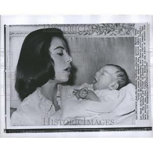 1960 Press Photo Marisa Pavan Patrick Italian Actress