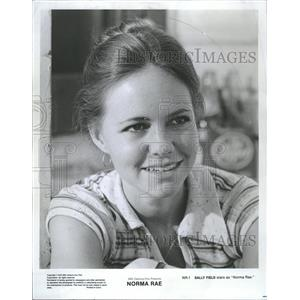 1980 Press Photo Actress Sall Field Stars In Norma Rae