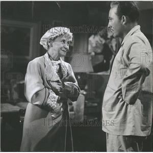 1950 Press Photo Bing Crosby & Ida Moore in Mr. Music - RRT71969