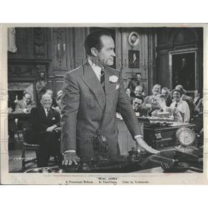 1957 Press Photo BOB HOPE in Beau James - RRT71927