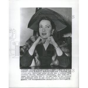 1951 Press Photo Linda Darnell Actress - RRT63003
