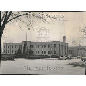 1950 Press Photo Wyeth Laboratories Skokie Illinois