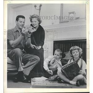 1956 Press Photo Robert Cummings Actor - RRT63189
