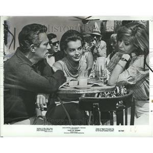 1967 Press Photo 10:30 PM Summer Film Peter Finch - RRT14721