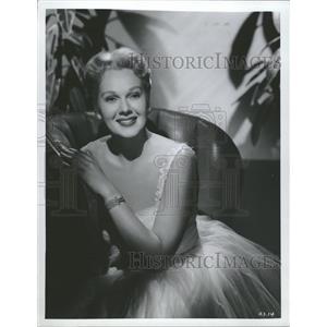 1955 Press Photo Jergens Adele - RRT52589