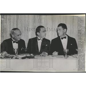 1936 Press Photo J. Edgar Hoover FBI Crime Boys Club