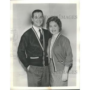 1959 Press Photo Robert Orville Cummings TV Film Actor - RRT63185