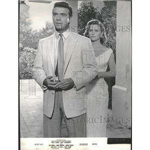1956 Press Photo Anthony Franciosa and Lee Remick - RRT64649