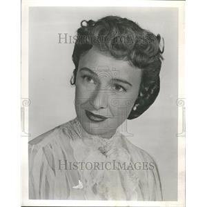 1957 Press Photo Phyllis Thaxter - RRT08457