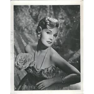 1953 Press Photo Zsa Zsa Gabor - RRT67929