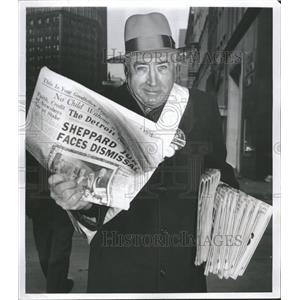 1954 Press Photo James Connell Congress Woodward News