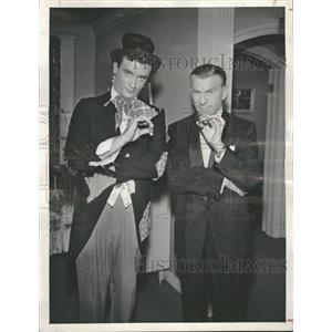 1958 Press Photo George Burns Ronnie Burns - RRT65489