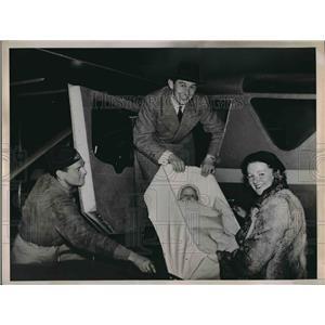 1936 Press Photo Kurt Bkorkvall Swedish Flier Atlantic - nea99949
