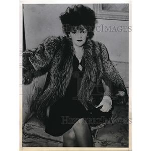 "1945 Press Photo Mrs. Vilma Kempton Known To Cafe Society ""Lady Kempton"""
