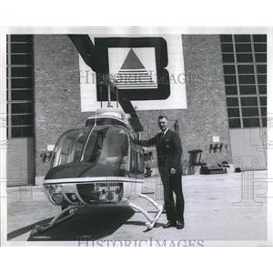 1967 Press Photo Traffic Helicopter - RRS21417