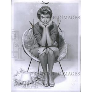 1957 Press Photo Carole Matthews, actress - RRS55471