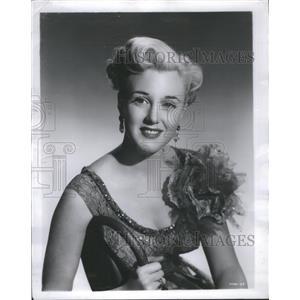 1950 Press Photo Jan Sterling - RRS72467