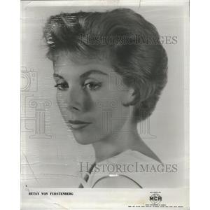 1956 Press Photo Besty Von Furstenberg Film Actor - RRS72099