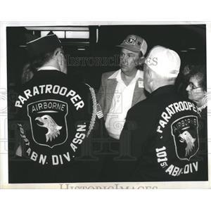 1984 Press Photo Harold Reverd Harmer Jacket Shot - RRS17711