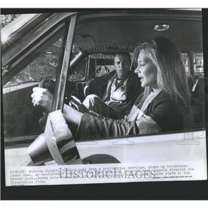 1969 Press Photo Shirley Knight Running Away Stultify