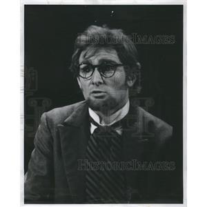 1969 Press Photo Actor Jeremy Rowe as Professor Higgins - RRS32193