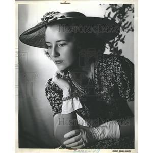 1937 Press Photo Peggy Powers Detroit - RRS34955