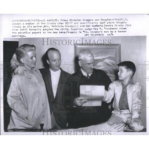 1958 Press Photo Dennis Crosby Actor - RRS86991