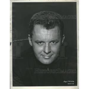 1956 Press Photo Actor Rod Steiger Promotional Headshot - RRS32381