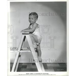 1934 Press Photo Baby LeRoy, Paramount's youngest star - RRS23617
