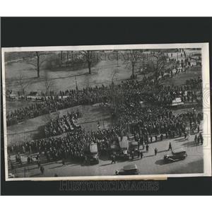 1932 Press Photo American Farewell Meeting - RRS25267