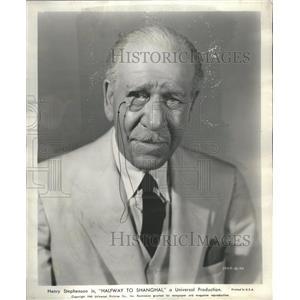 1942 Press Photo Henry Stephenson Garraway England 1901 - RRS32557