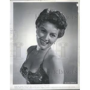1954 Press Photo May Wynn Actress Caine Mutiny Madison - RRS48631