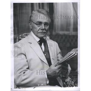 "1958 Press Photo Charles Sherman ""Charlie"" Ruggles - RRS30719"