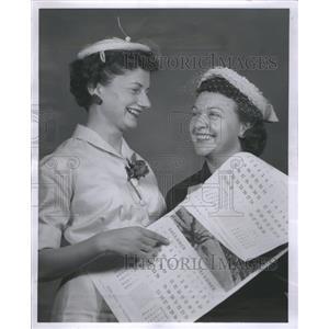 1955 Press Photo Alice Indianola Actress Emmy Award - RRS66743