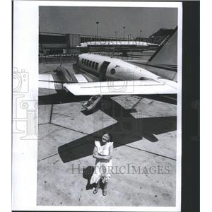 1978 Press Photo Ky stream Airlines United Airlines - RRS44183