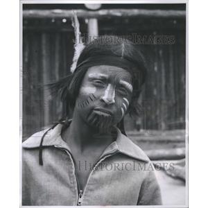 1955 Press Photo Michael Young Indian Spirit - RRS44953