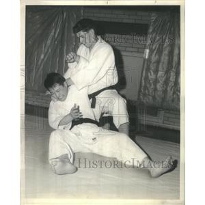 1962 Press Photo Ronald Hoffman Judo Specialist - RRS42201