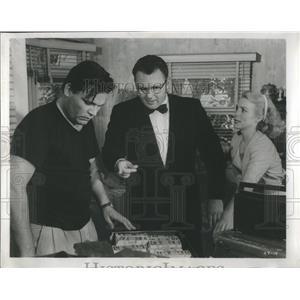 1958 Press Photo Rodney Stephen Rod Steiger Film - RRS15725