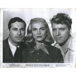 1947 Press Photo Film Actors Scott Hodiak Lancaster - RRS76995
