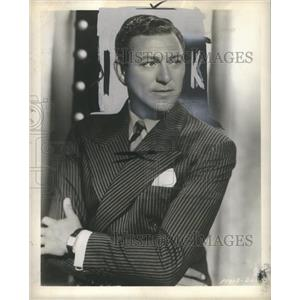 1948 Press Photo Carl Brisson Danish Actor Silent Films - RRS55547