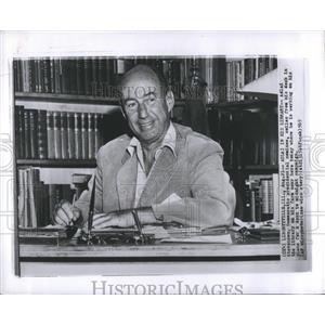 1965 Press Photo Library Adlai Stevenson Democratic - RRS15671