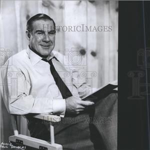 1954 Press Photo Paul Douglas - RRS45543