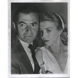 1958 Press Photo Inger Stevens Actress - RRS72375