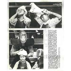 1980 Press Photo Samurai Art Japanese Cultural Center - RRS40973